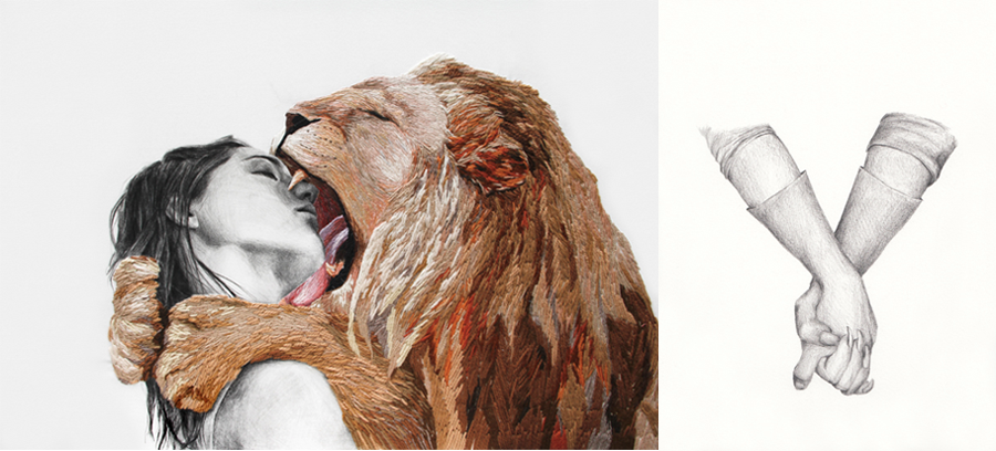 Images from Animales Familiares series, September 2011.