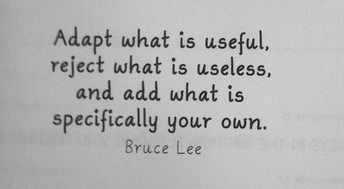 quote from bruce lee