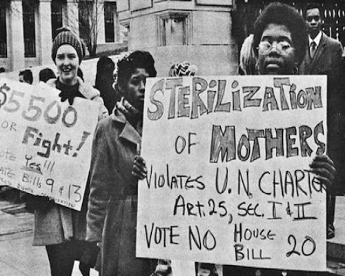 louisville residents protest prison sterilization in 1971