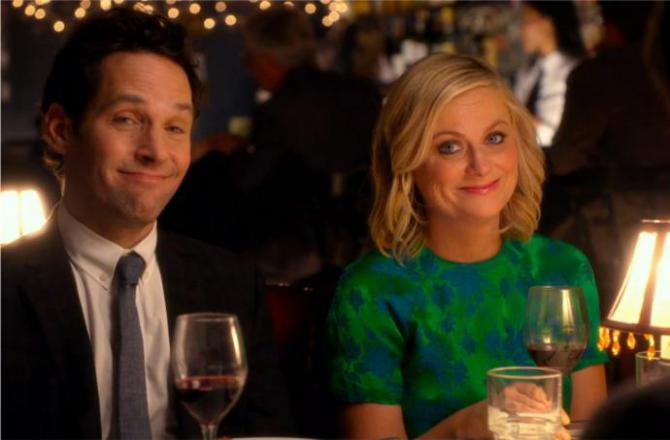 amy poehler and paul rudd in they came together