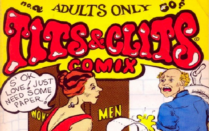 the cover of Tits and Clits comics