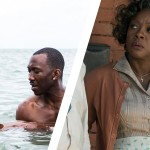 Stills from Moonlight and Fences.