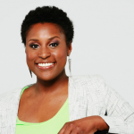 A portrait of Issa Rae