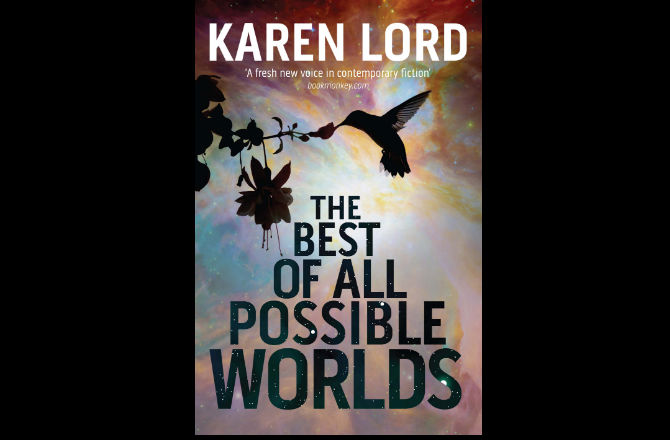 the cover of karen lord's book