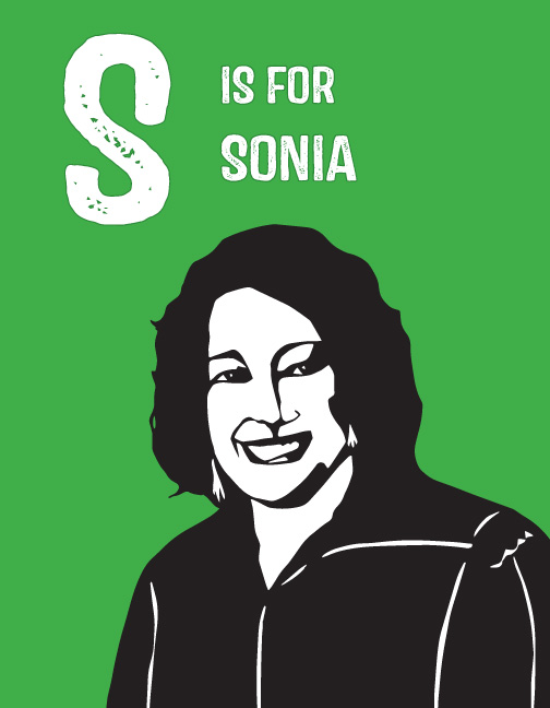 image: S is for Sonia Sotomayor