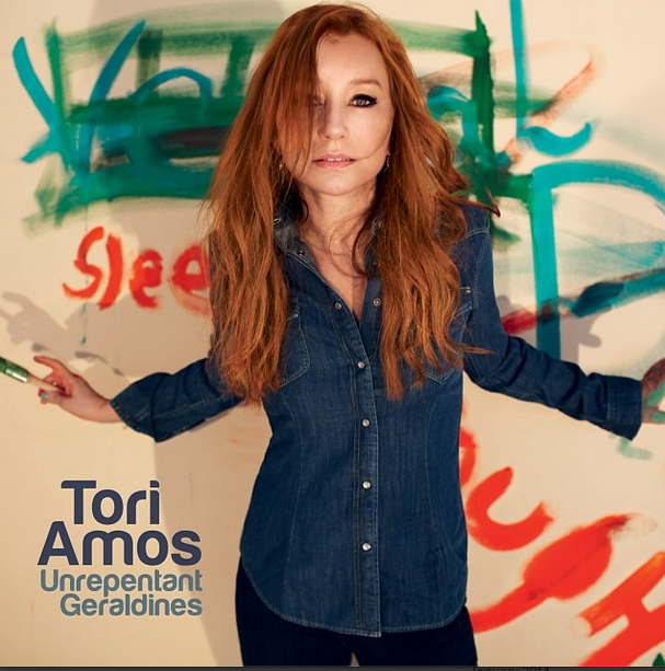 tori amos on the cover of her new album