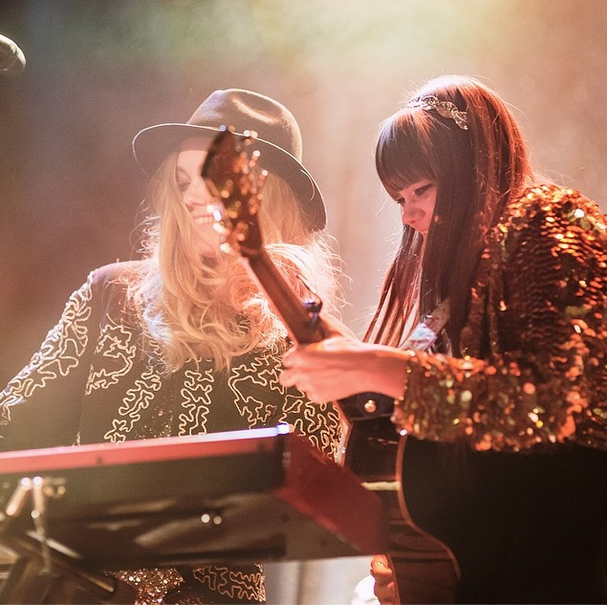 first aid kit's gold outfits