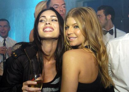 Megan Fox and bisexual pop star Fergie