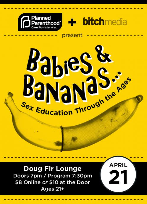 fier for babies and bananas sex education benfit event