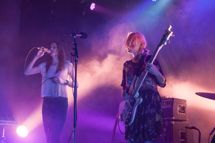 Warpaint at Wonder Ballroom