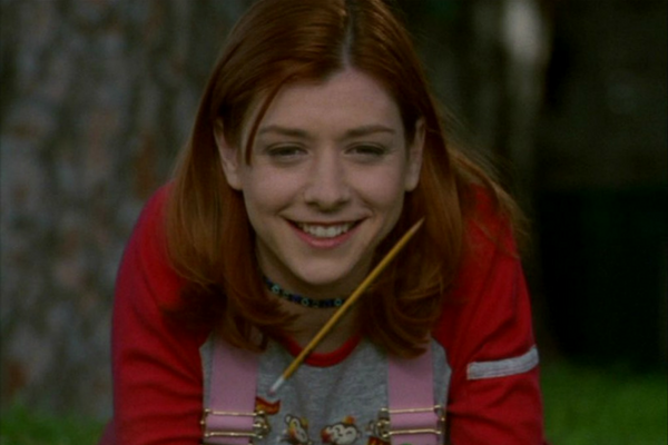 Willow Rosenberg learns magic by floating a pencil